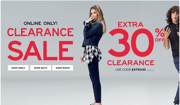 Aeropostale Coupons 30 Off