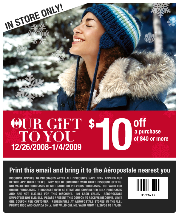aero coupons picture sample