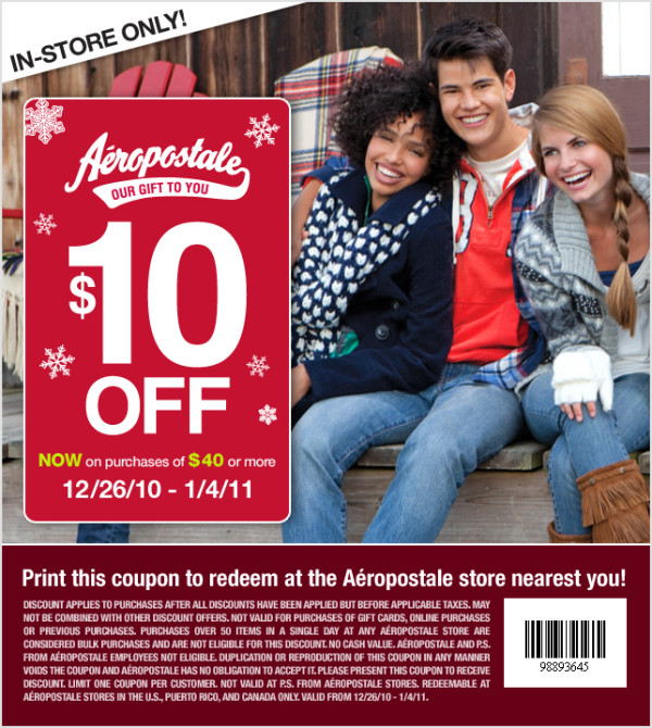 aero coupons sale